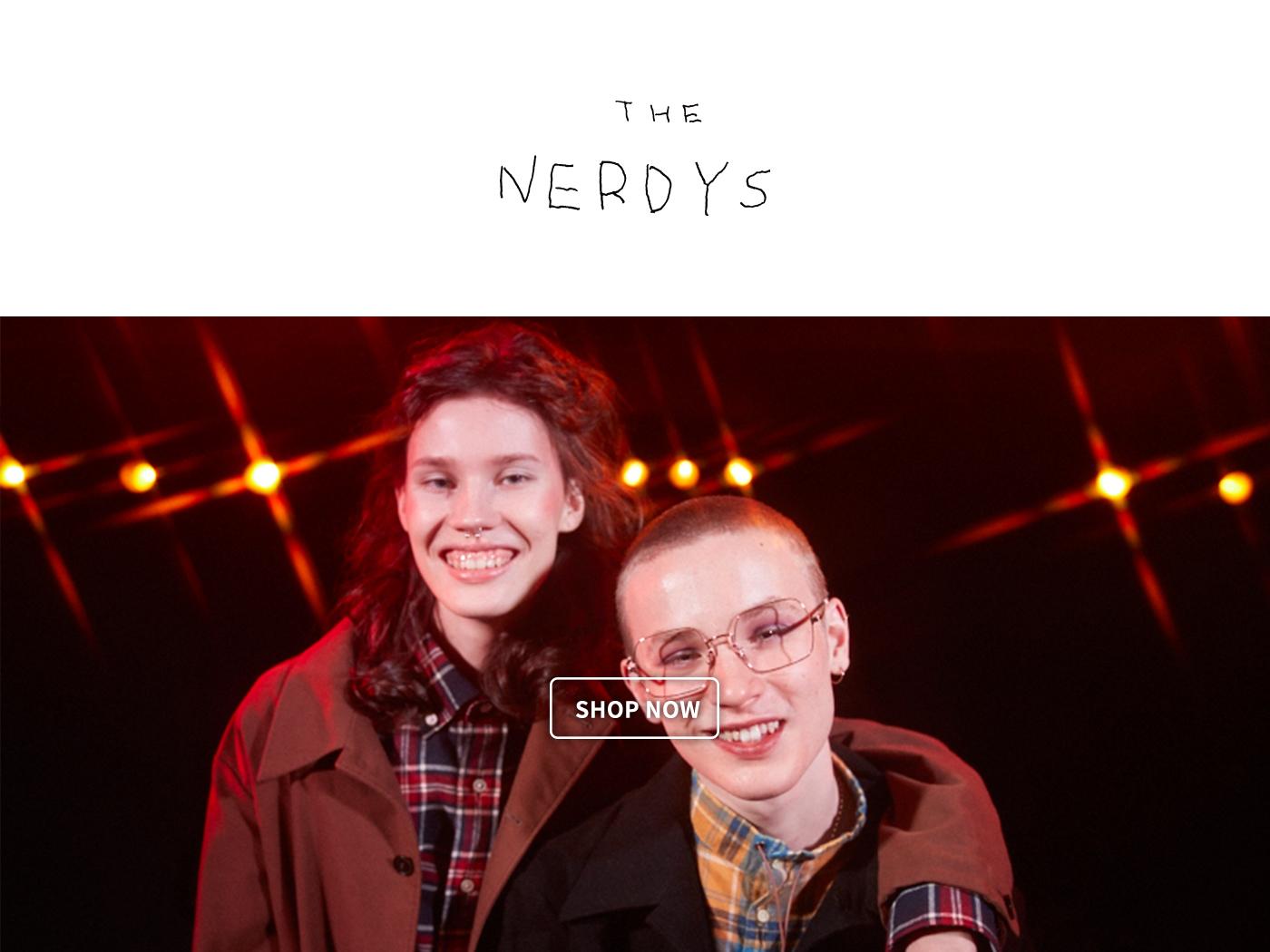 The NERDYS,NERD,阿久津誠治,書呆子,THE NERDYS 日本,THE NERDYS 台灣,ナーディーズ
