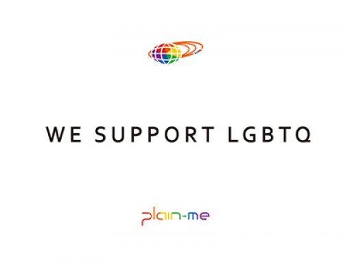 BEAMS & plain-me:We support LGBTQ!