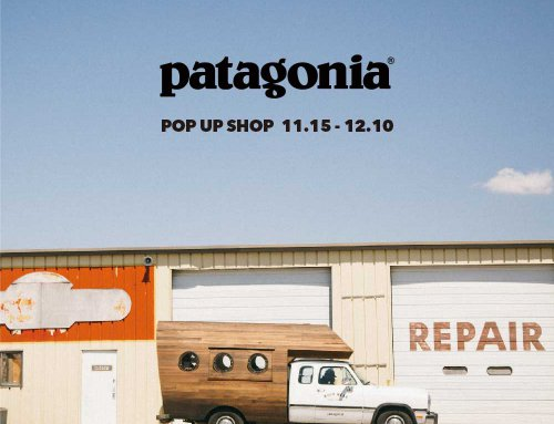 Patagonia POP UP SHOP