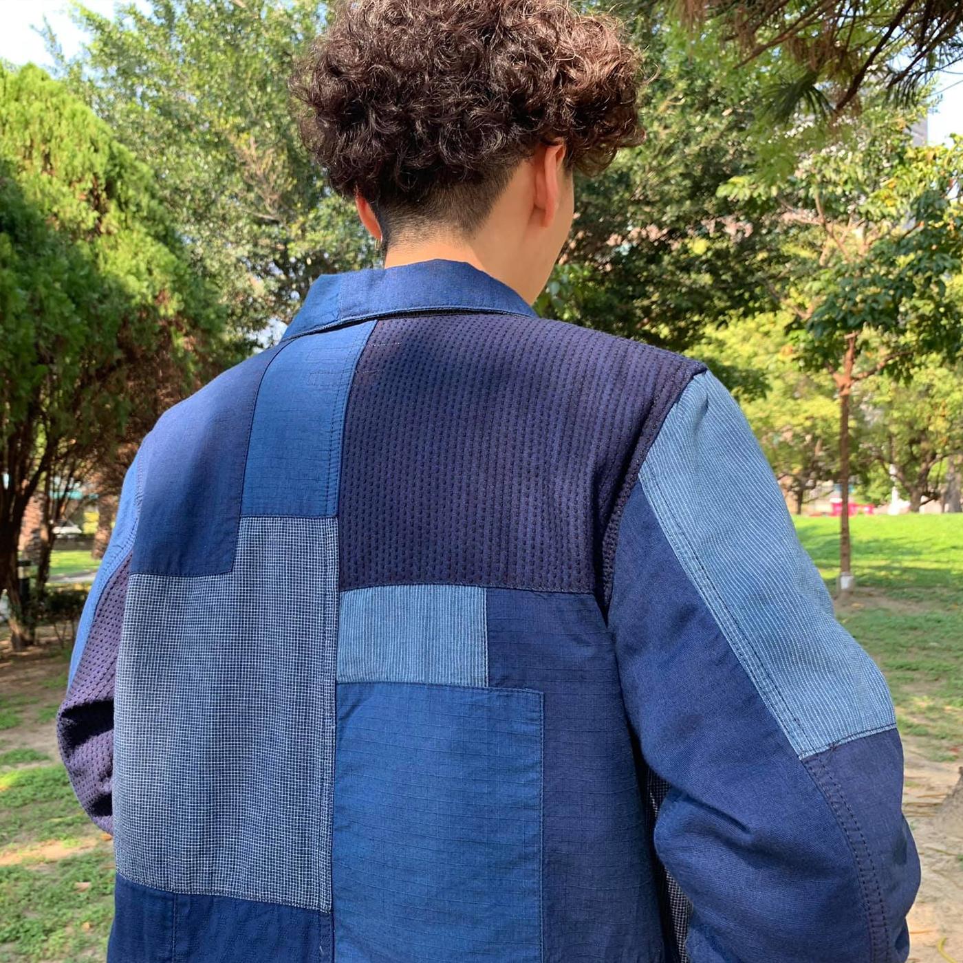 outdoor,軍風,男裝女穿,一週搭配,同色系,拼接,搭配名人,查理,格紋,條紋,女生搭配,街頭搭配