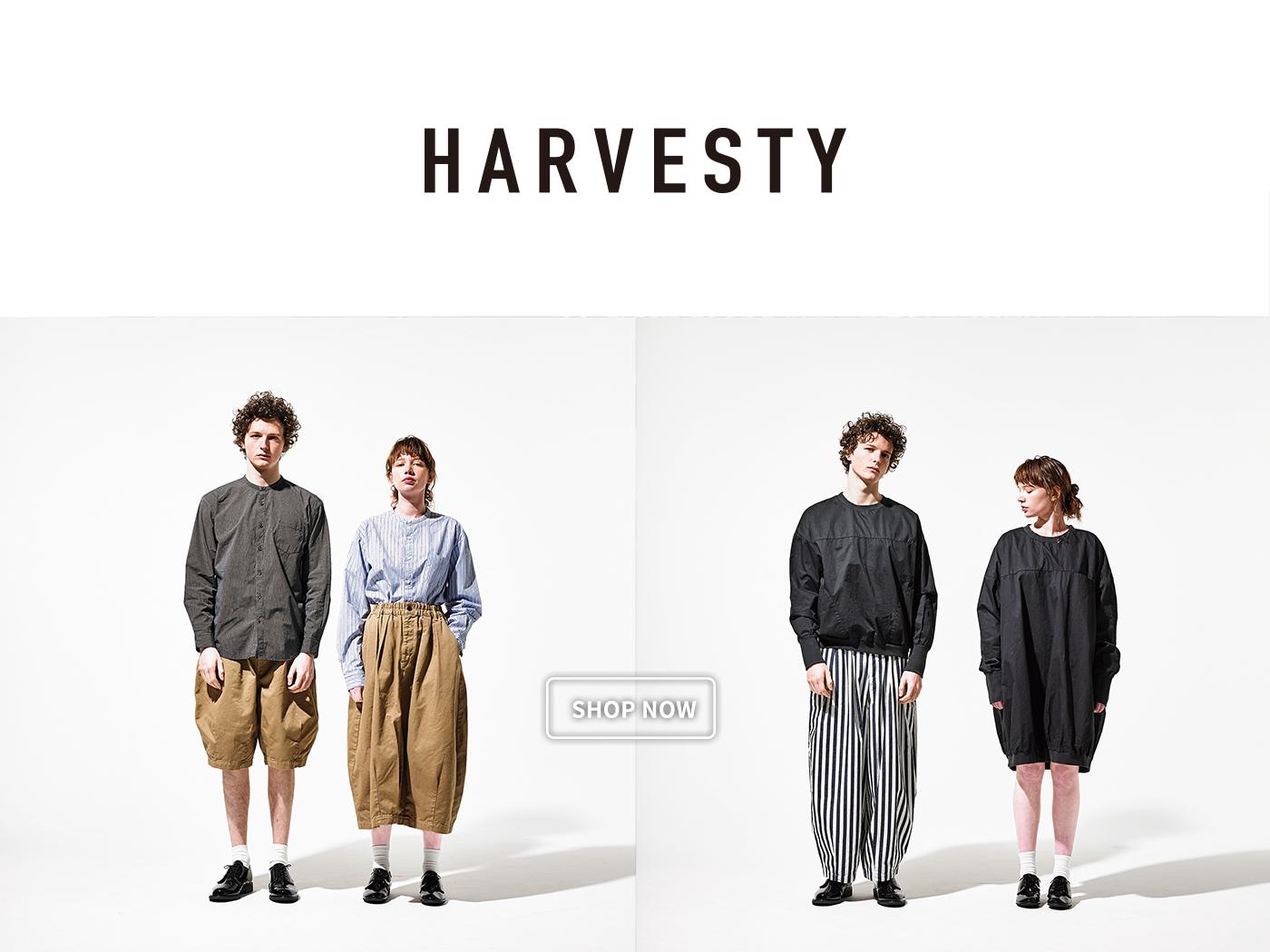 harvesty,harvesty台灣,harvesty 褲,harvesty 福岡,harvesty japan,harvesty jp,harvesty 通販,CIRCUS PANTS,馬戲團褲,寬褲