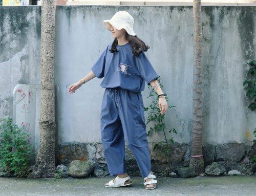 繭型長褲 一週搭配分享 20190812 – plain-me 視覺設計 Adrin