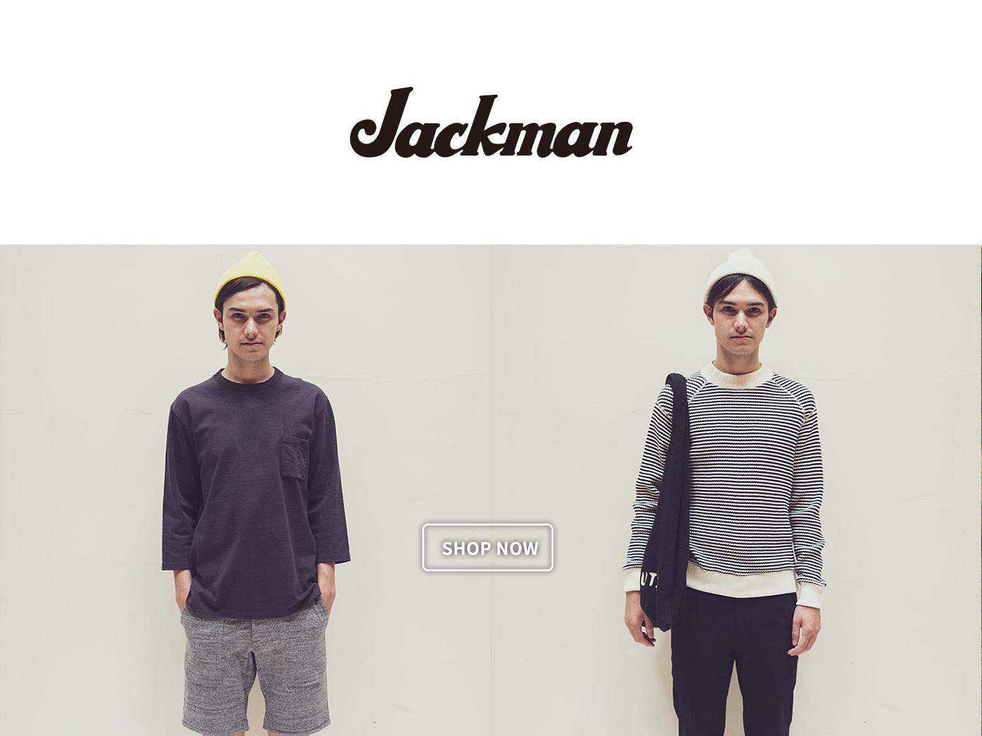 jackman,jackman jp,日本設計服裝,日本服裝,日本服裝品牌,
