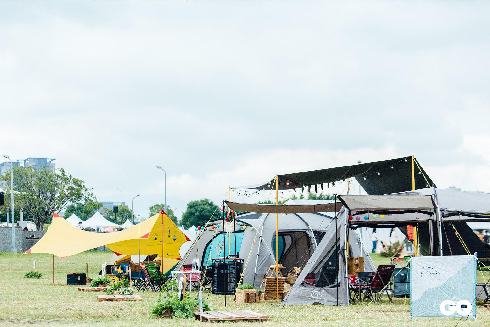 gq,野營,城市野營嘉年華,2019野營,露營活動2019,露營,風格露營,裝備市集