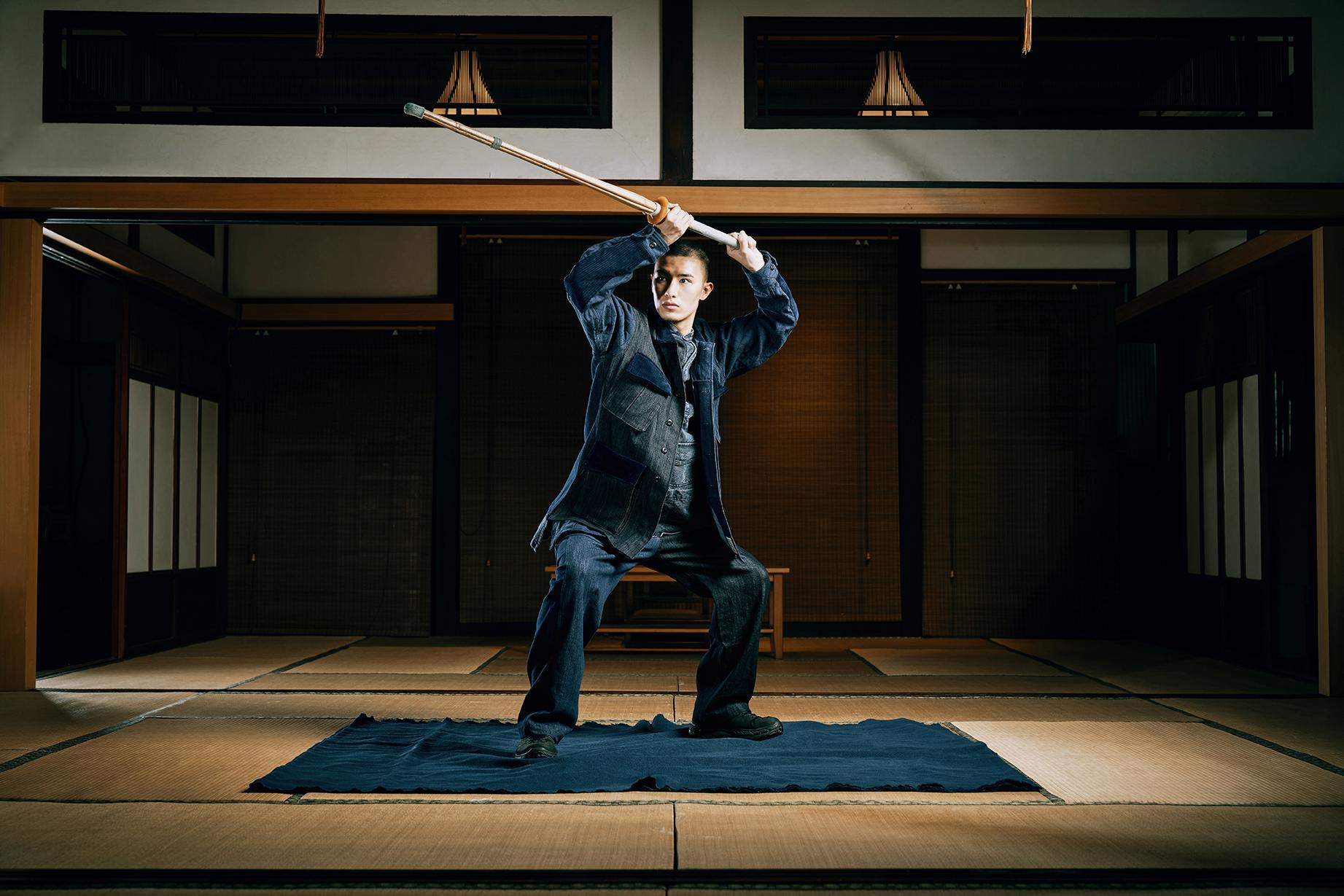 SYNDRO,刺子,SYNDRO刺子,劍道,腦說,刺子繡,拼接,丹寧,軍裝