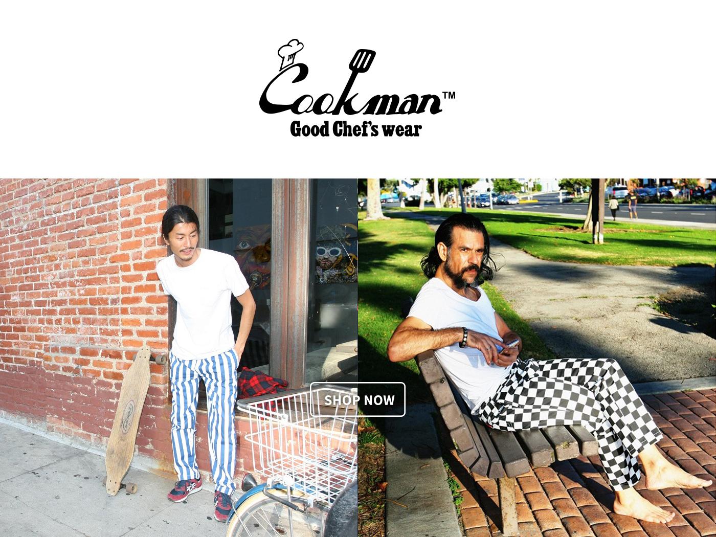cookman,cookman pants,廚師褲,cookman 大阪,cookman 台灣,cookman tw,cookman コーデ,廚師,美國廚師,美國洛杉磯,西岸廚師