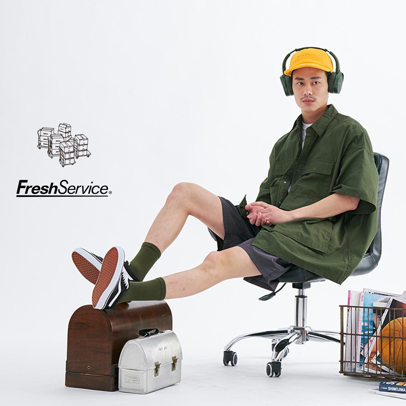fresh service,fresh service clothing,fresh service dickies,fresh service jp,選物店,選物,貨運,南貴之,運送会社,fresh service 通販