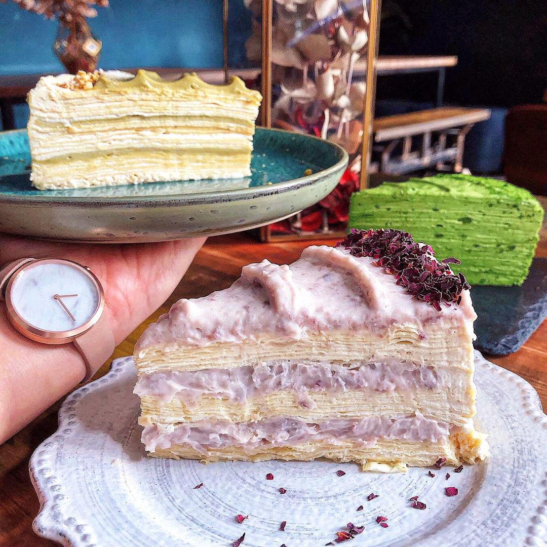 千層蛋糕,千層蛋糕推薦,MOFA 魔法氛子,塔吉特千層蛋糕,OZ Cafe & Bistro,Gather食聚,Crepe Cocoya,時飴,流心,好休咖啡