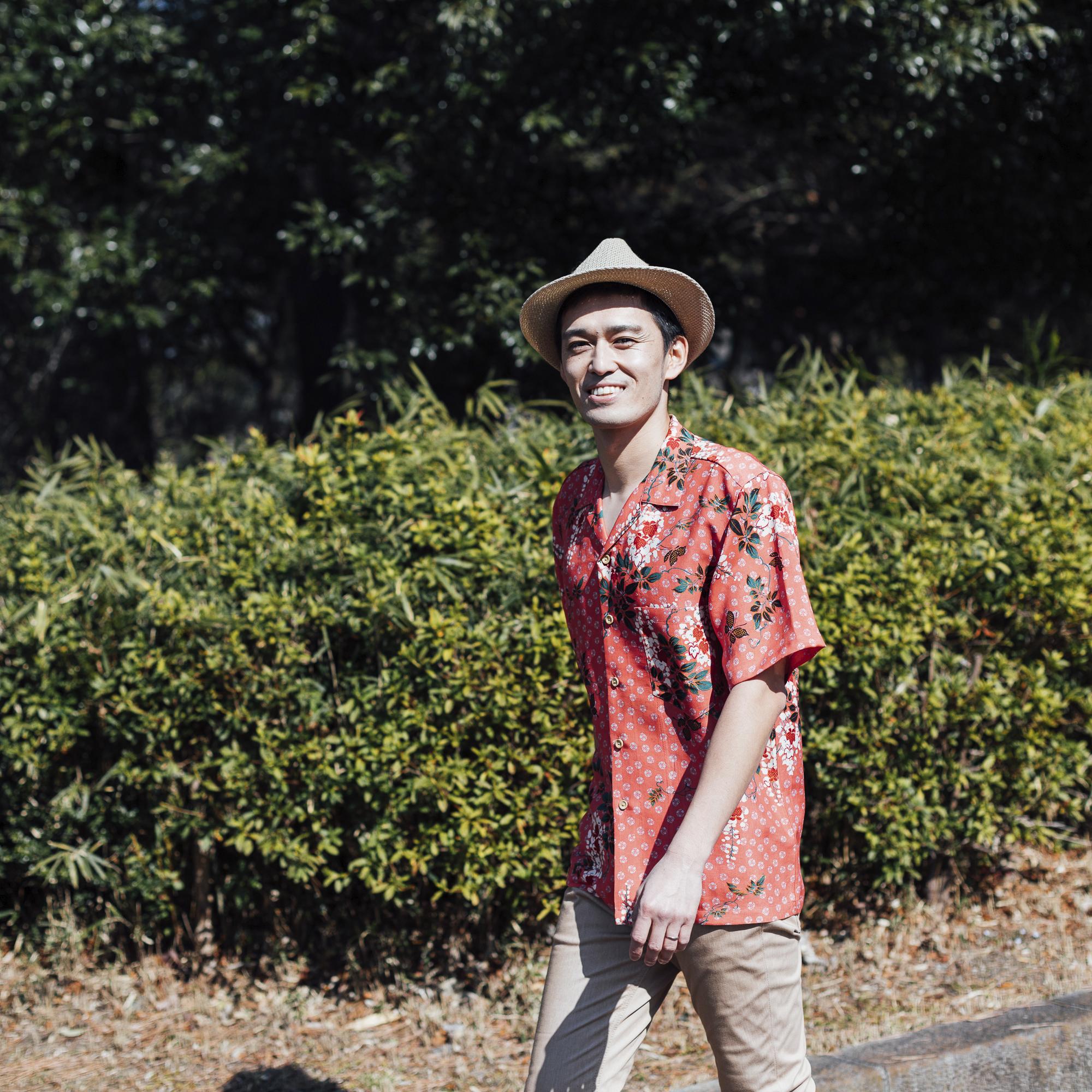 Samurai ALOHA,サムライアロハ,夏威夷襯衫,Aloha Shirt,総柄,アロハ シャツ,