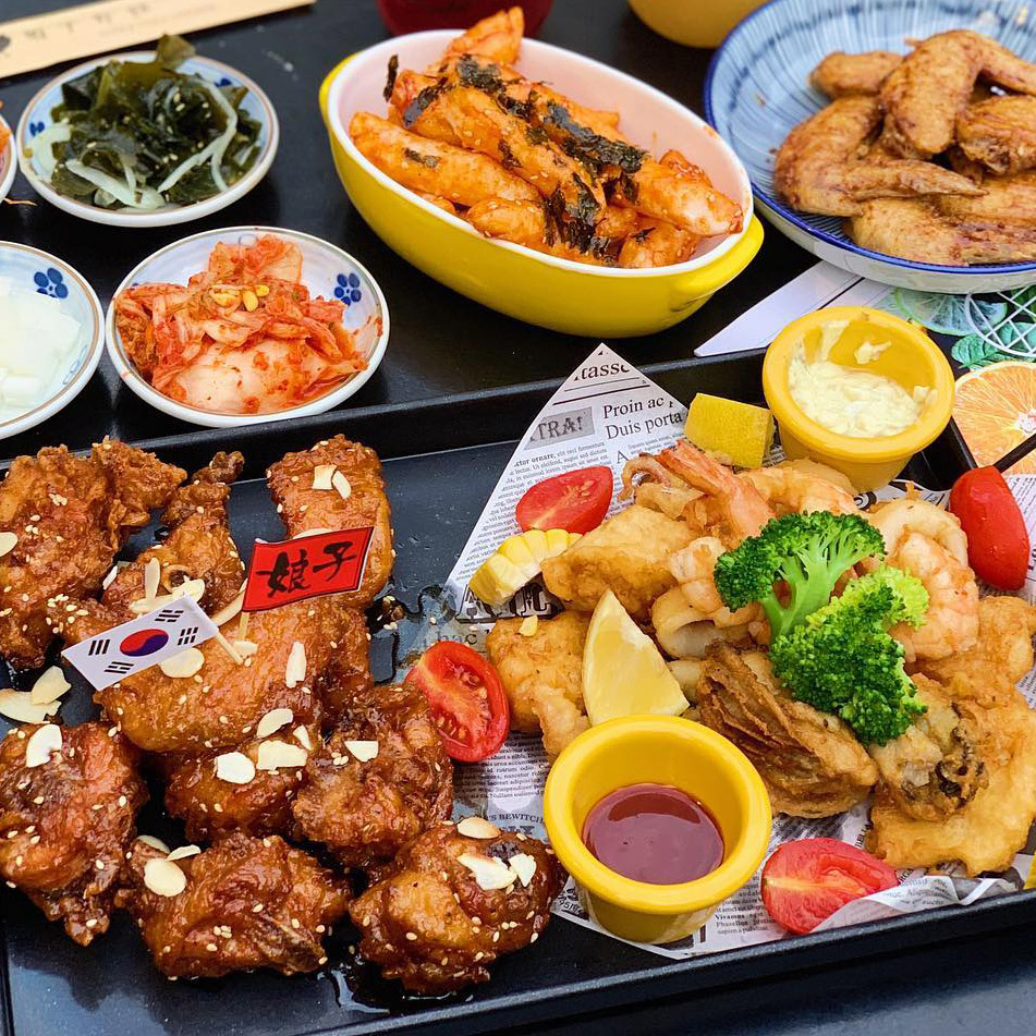 韓式炸雞,韓式炸雞店,韓式炸雞外送,起家雞,OMAYA春川炒雞,Chicken Box韓式炸雞,娘子炸雞,Jagiya 親愛的 韓式炸雞,圓夢炸雞