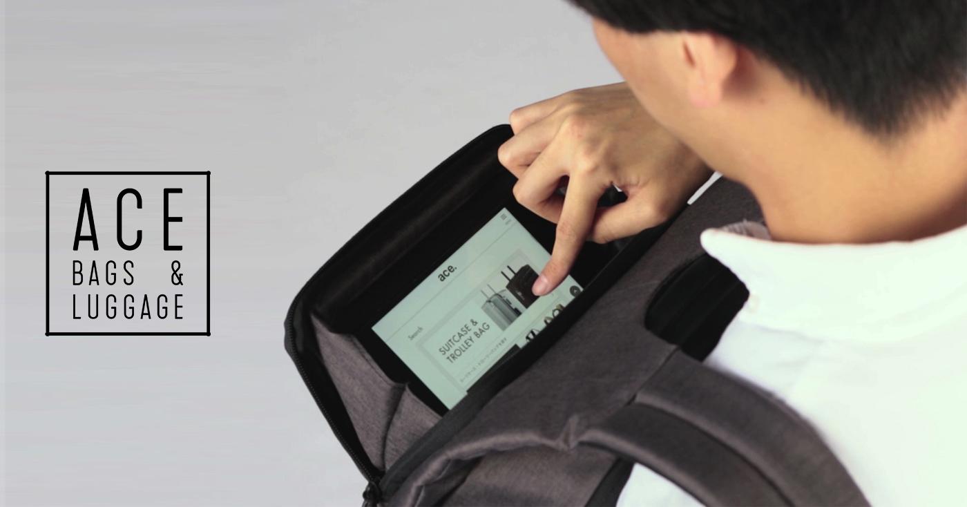 ace,日本箱包,行李箱,包袋,背包,SOPH,通勸包,機能包