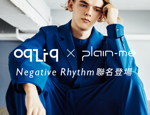 LOOKBOOK|oqLiq x plain-me:Negative Rhythm